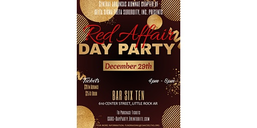Central Arkansas Alumnae Chapter presents RED AFFAIR Day Party