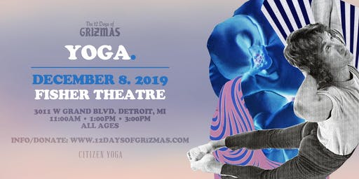 GRiZMAS Day 6: Yoga + Meditation (Session 1)