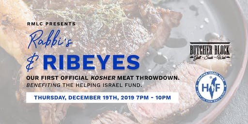 Red Meat Lovers Club  Presents A Night of Epic Steak  (and it's Kosher!!)