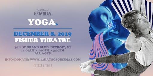 GRiZMAS Day 6: Yoga + Meditation (Session 2)