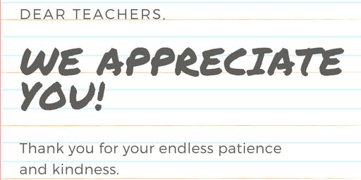 Teachers!  We Appreciate YOU!  Free Infrared Sauna Week just for you!