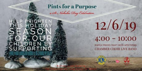 Pints for a Purpose–St. Nicholas Day Celebration at Buffalo Creek Brewing tickets