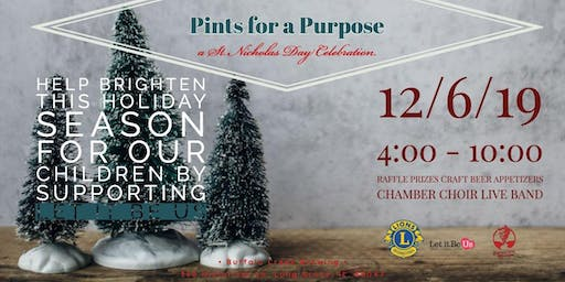 Pints for a Purpose–St. Nicholas Day Celebration at Buffalo Creek Brewing