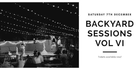 Backyars Sessions Vol VI tickets