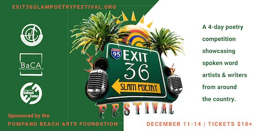 Exit 36 Slam Poetry Festival - Day Two - December 12