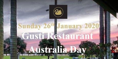 WA Club - Australia Day, Dinner and Skyshow tickets