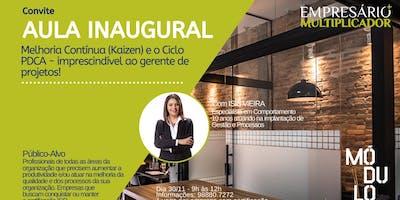 AULA INAUGURAL - Melhoria Contínua (Kaizen) e o Ciclo PDCA - imprescindível ao gerente de projetos!