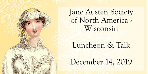 Jane Austen Society Luncheon & Talk