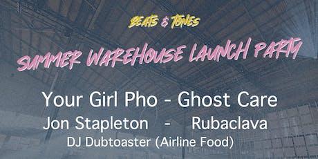 Beats & Tones  - Summer Warehouse Party tickets