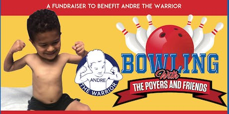 Bowling With The Poyer's 12/16/19 @ 500 Pearl for Andre the Warrior tickets