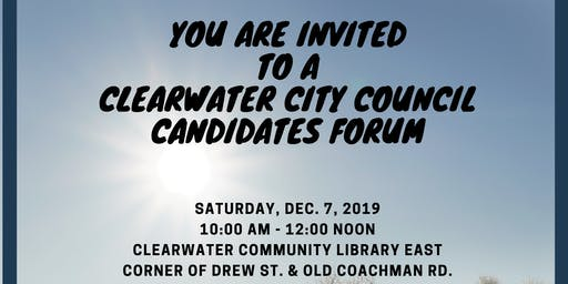 Meet the City of Clearwater Candidates for 2020
