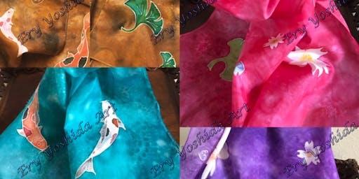 Silk Painting Serti Technique
