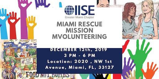 Miami Rescue Mission Volunteering