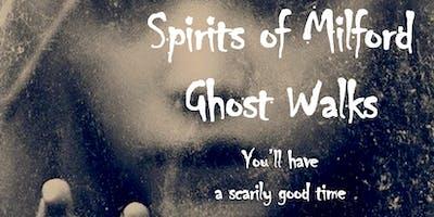Friday, October 30, 2020 Spirits of Milford Ghost Walk