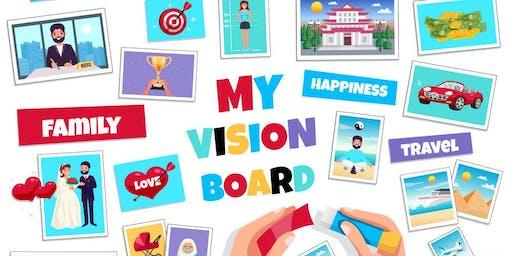 Meditation and Vision Board