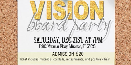 Simply Kettia's Vision Board Party