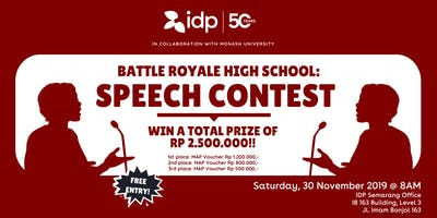 Battle Royale High School: Speech Contest