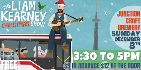 The Liam Kearney CHRISTMAS Show at Junction Craft tickets