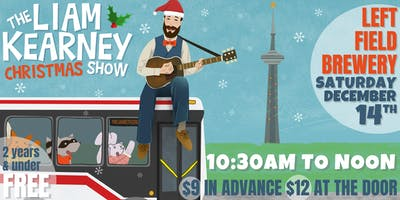 The Liam Kearney CHRISTMAS Show at Left Field