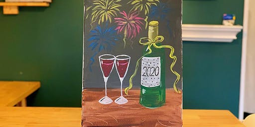 THINGS TO DO -PAINT & SIP EVENT: 2020 COUNTDOWN