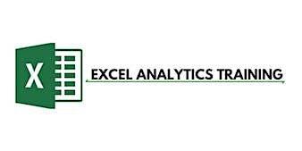 Excel Analytics 3 Days Training in Brisbane