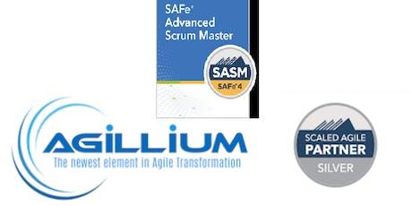SAFe Advanced Scrum Master 2 Day Certification Class - London,  UK tickets