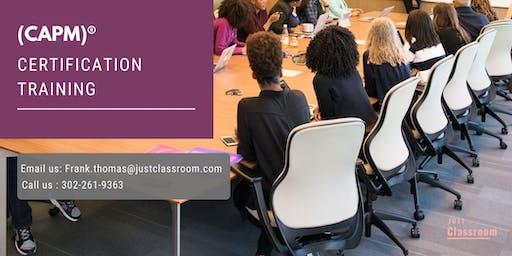 CAPM Classroom Training in Laurentian Hills, ON