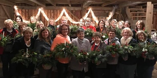 Christmas Centerpiece Workshop At Hometown Coffee