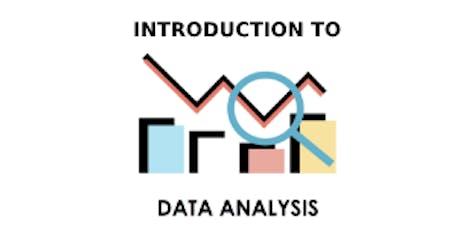 Introduction To Data Analysis 3 Days Training in Brisbane tickets