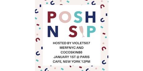 Poshmark Posh N Sip and Brunch tickets