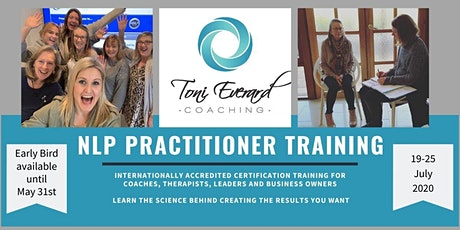 NLP Practitioner Training - ONLINE tickets