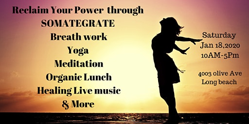 Reclaim Your Power Through Somategrate