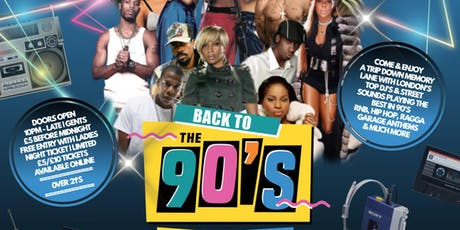 BACK TO THE 90'S | OLD SKOOL VS NEW SKOOL XMAS PARTY | HACKNEY EMPIRE BAR tickets