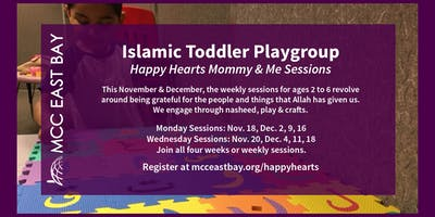 Islamic Toddler Playgroup | Happy Hearts Mommy & Me Sessions