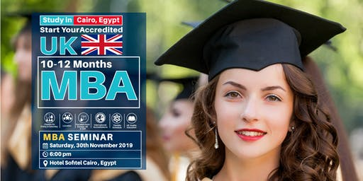 Free MBA Seminar - 30th November  - Egypt