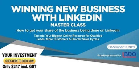 LINKEDIN PROFITS Master Class - Presented by Linda Le tickets