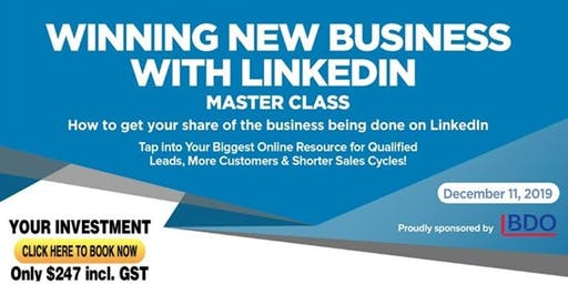 LINKEDIN PROFITS Master Class - Presented by Linda Le