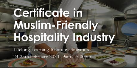 Certificate in Muslim-Friendly Hospitality Industry tickets