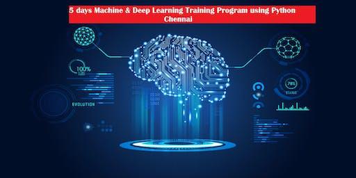 Machine & Deep Learning Training Program using Python
