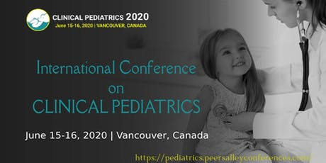 Clinical Pediatrics 2020 CANADA tickets