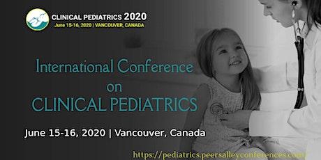 Clinical Pediatrics 2020 CANADA tickets