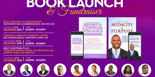 BOOK LAUNCH AND CHURCH BUILDING FUNDRAISER