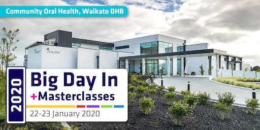 Masterclasses & Big Day In 2020