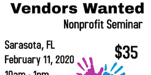 Vendors Wanted Sarasota, FL