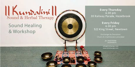 Kundalini Sound Healing with Singing Bowl workshop / kirtan *Weekly* tickets