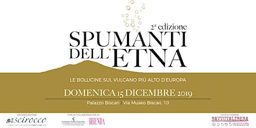 Spumanti dell'Etna 2a edizione Domenica 15 dicembre Palazzo Biscari