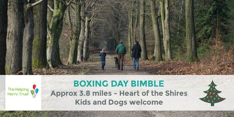BOXING DAY BIMBLE| HEART OF THE SHIRES | NORTHANTS WALK | 3.92 MILES | MODERATE ROUTE tickets