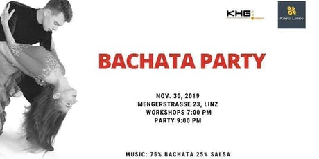 The first Bachata Party in Linz Tickets