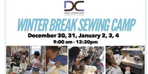 Winter Break Sewing Camp