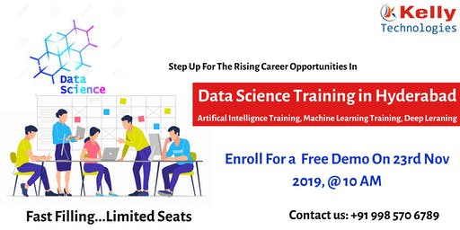Enroll For The Data Science Training Demo Attended By The Domain Experts